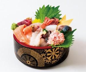 三芳メガ盛り海鮮丼